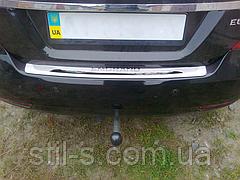 Накладка на задний бампер GEELY EMGRAND 7 sedan
