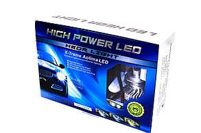 Комплект LED ламп AllLight F2 H7 50W 6500K 7000lm с вентиляторами (Philips technology), фото 2