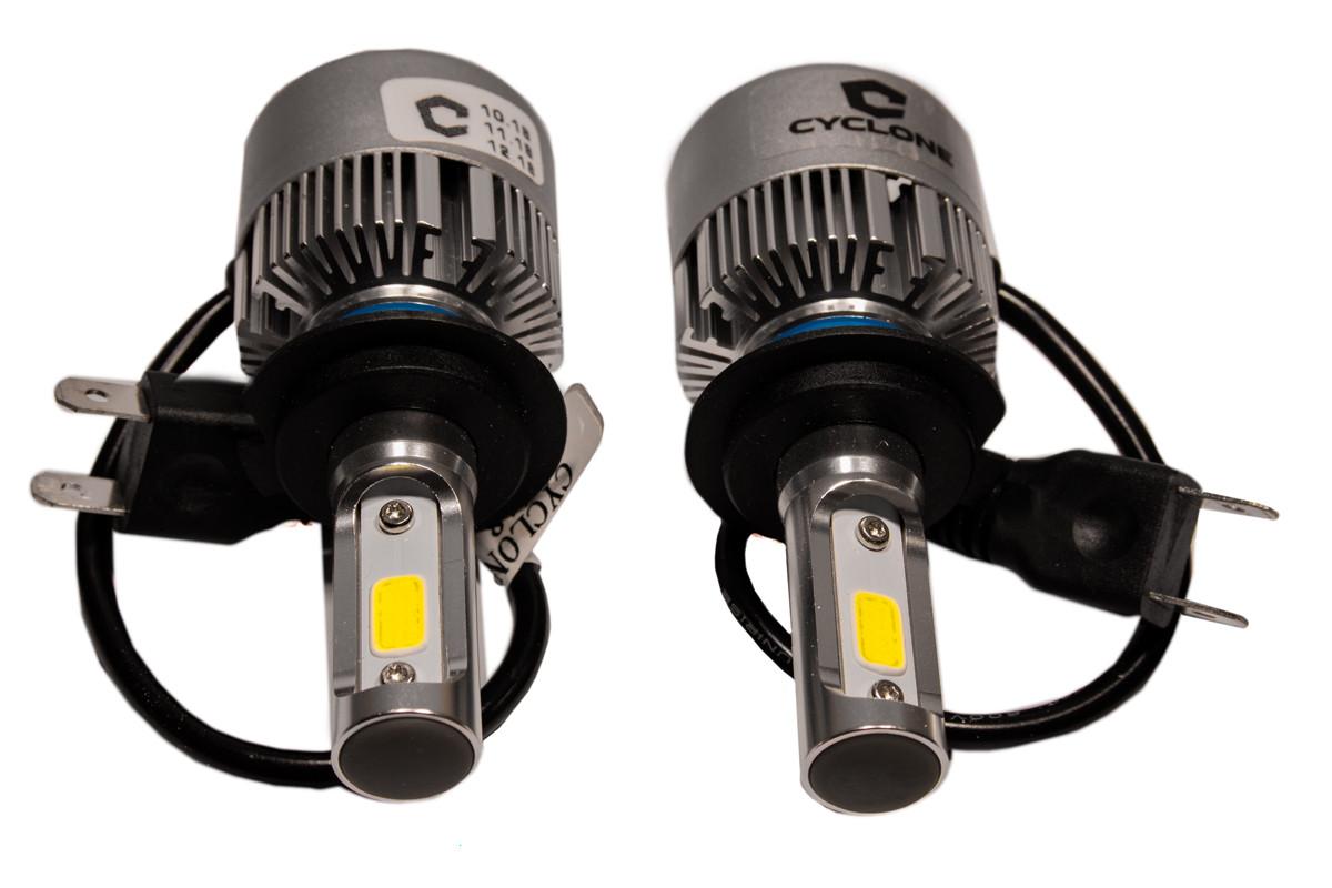 Комплект LED ламп CYCLON Type20 H7 5000K 2800lm з вентилятором