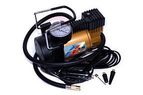 Компрессор автомобильный КВАНТ АС-580 12В с аналоговым датчиком давления