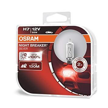 Автолампа OSRAM 64210NBS Night Breaker Silver +100 H7 55W 12V PX29t 10X2 HardDuopet