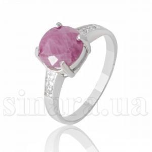Серебряное кольцо с рубином 28239