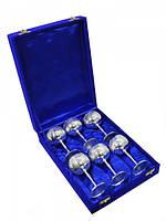 Подарочный набор рюмок в синей коробочке