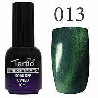 Гель-лак №013 CAT EYES (морської хвилі магнітний) 10 мл Tertio