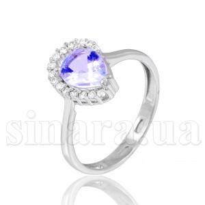 Серебряное кольцо с топазом 28939