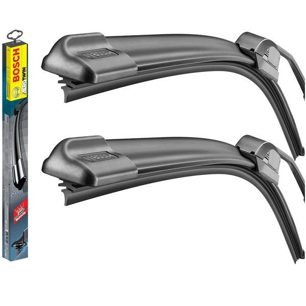 Комплект щеток стеклоочистителя бескаркасных Bosch AeroTwin ATW 466S ALFA ROMEO Mito [145] 08.08-> (3 397 007
