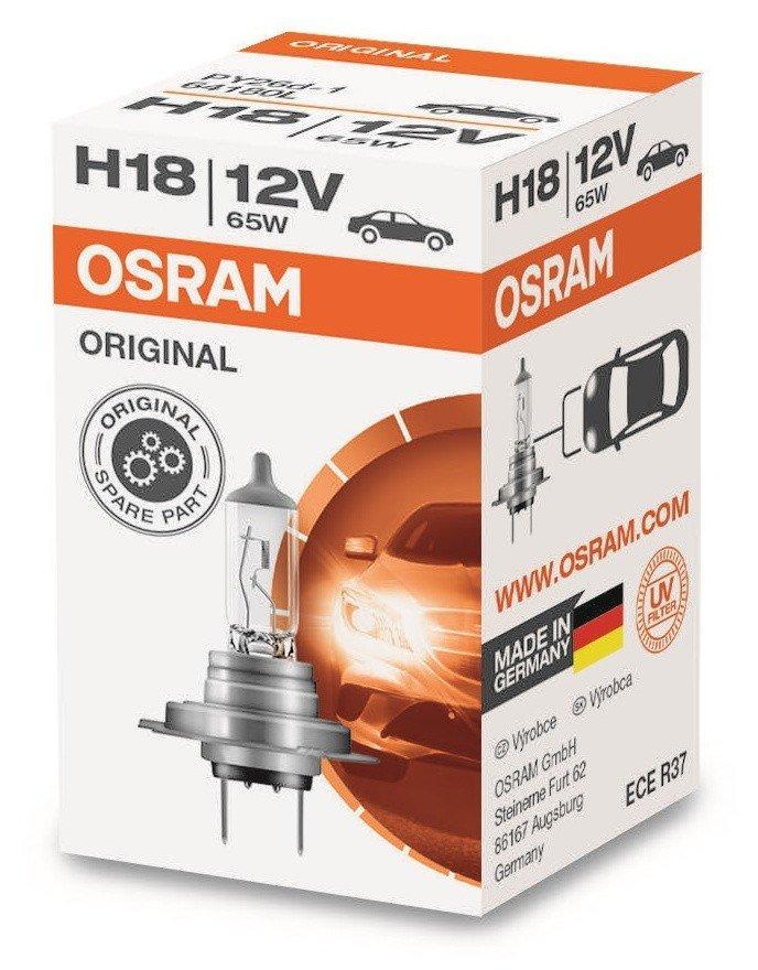 Автолампи OSRAM H18 64180L 65W 12V PY26D-1 10X1