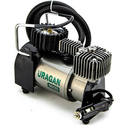 Автомобильный компрессор Uragan 90135 37л/мин 12 В + автостоп, фото 2