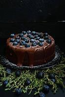 Рецепт: Шоколадный торт на раз, два, три