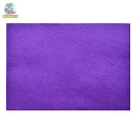 Набор Фетр мягкий, пурпурный