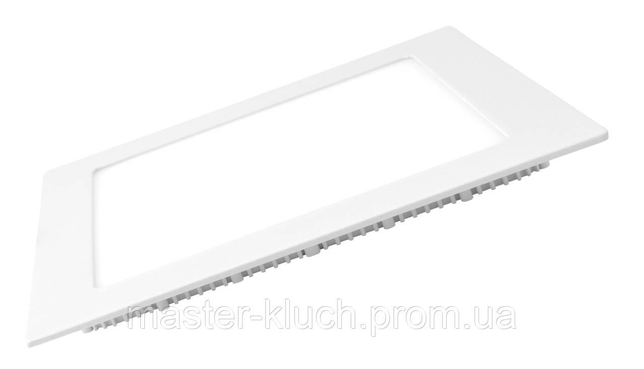 EUROLAMP LED Светильник квадратный Downlight NEW 18W 3000K