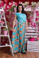 Платье Весеннее(батал)-1