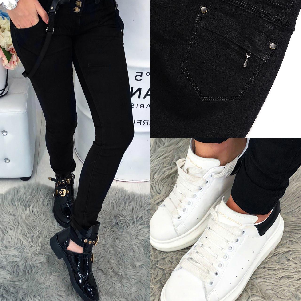 Черные джинсы с обычной посадкой ( 0106 Mardoc )