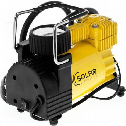Автомобильный компрессор Solar AR202 c автостопом, фото 2