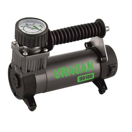 Автомобильный компрессор Uragan 90180 35 л/мин 12 в, фото 2