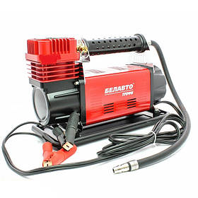 Автомобильный компрессор Белавто BK47 Трофи однопоршневой 160 л/мин с витым шлангом