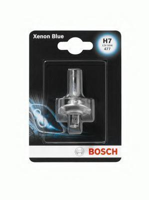 Автолампа BOSCH Xenon Blue H7 55W 12V PX26d (1987301013) 1шт./блистер