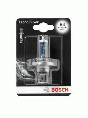 Автолампа BOSCH Xenon Silver Н4 60/55W 12V P43t (1987301068) 1шт./блистер, фото 2