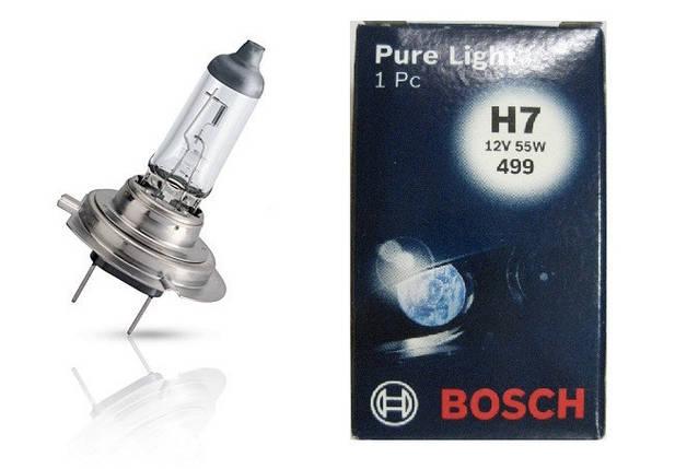 Автолампа BOSCH Pure Light H7 55W 12V PX26d (1987302071), фото 2