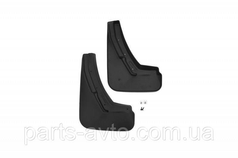 Брызговики задние для Renault Logan 2014-> сед. комплект 2шт полиуретан NLF.41.32.E10