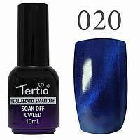 Гель-лак №020 CAT EYES (сапфіровий магнітний) 10 мл Tertio