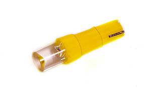 Светодиодная лампа AllLight T 5  1 диод LED W2*4.6d12V YELLOW