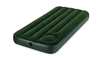 Одноместный Надувной матрас Intex 66950 со встроенным ножным насосом