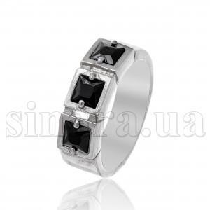 Серебряное кольцо с цирконием 7839
