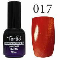 Гель-лак №017 CAT EYES (яскраво-червоний магнітний) 10 мл Tertio
