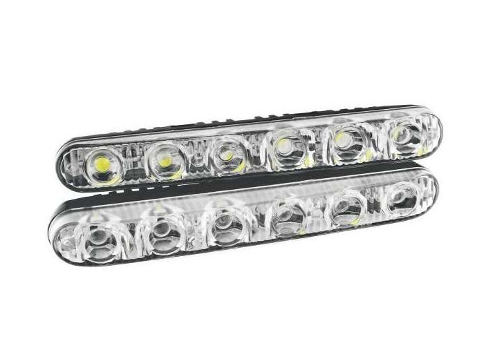 Ходовые огни HeadLight DRL ARP6 диодов (1W)