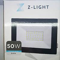 Светодиодный LED прожектор компании Z-Ligt  мощностью 50 Вт