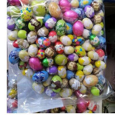 Конфеты шоколадные яйца Laica 1кг. Италия