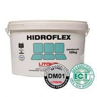 """HIDROFLEX(10кг.) - Эластичная гидроизоляционная мембрана для внутренних работ.""""Litokol"""""""