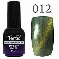 Гель-лак №012 CAT EYES (світло-зелений магнітний) 10 мл Tertio