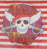 Салфетки праздничные Пиратские