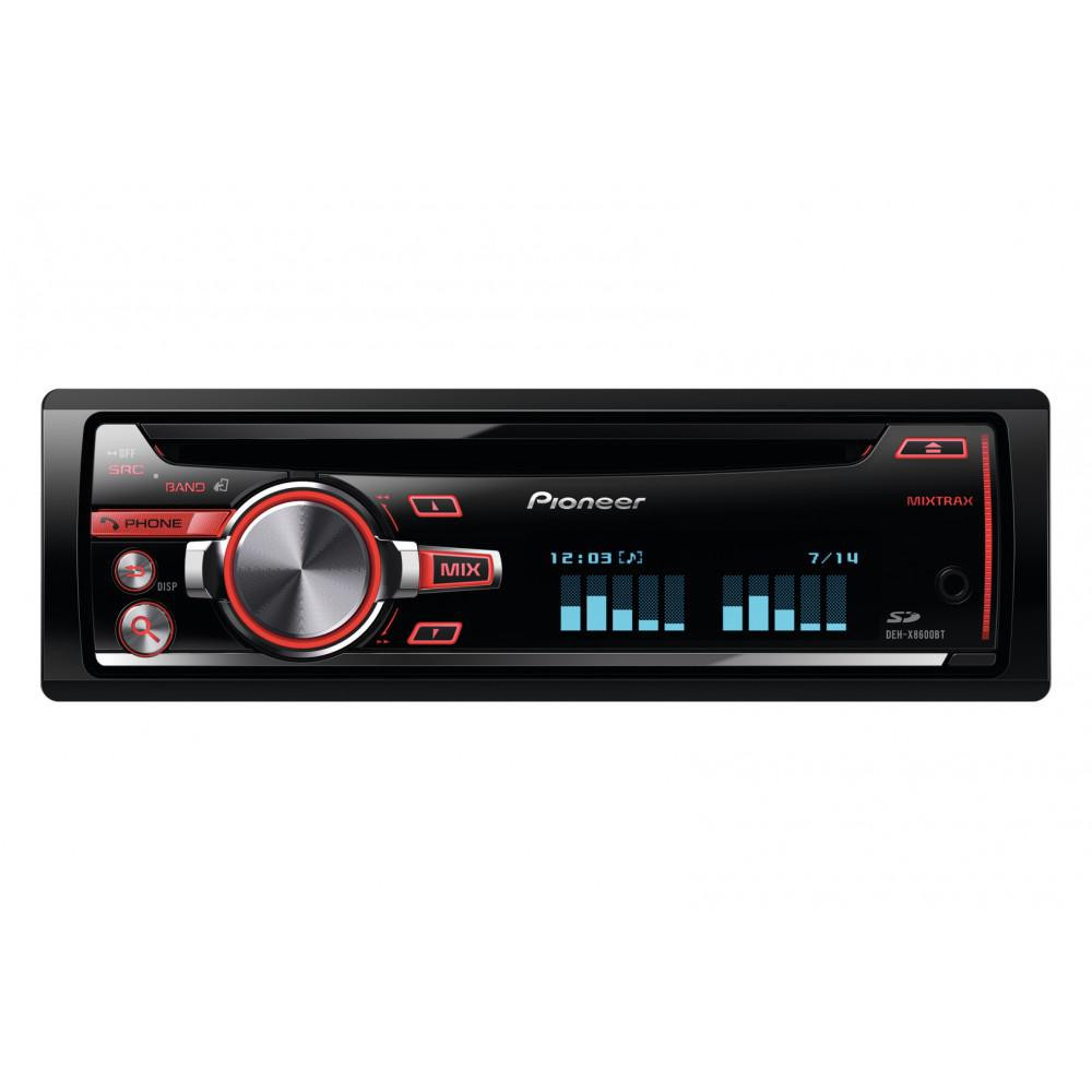 CD/MP3-автомагнитола Pioneer DEH-X8600BT