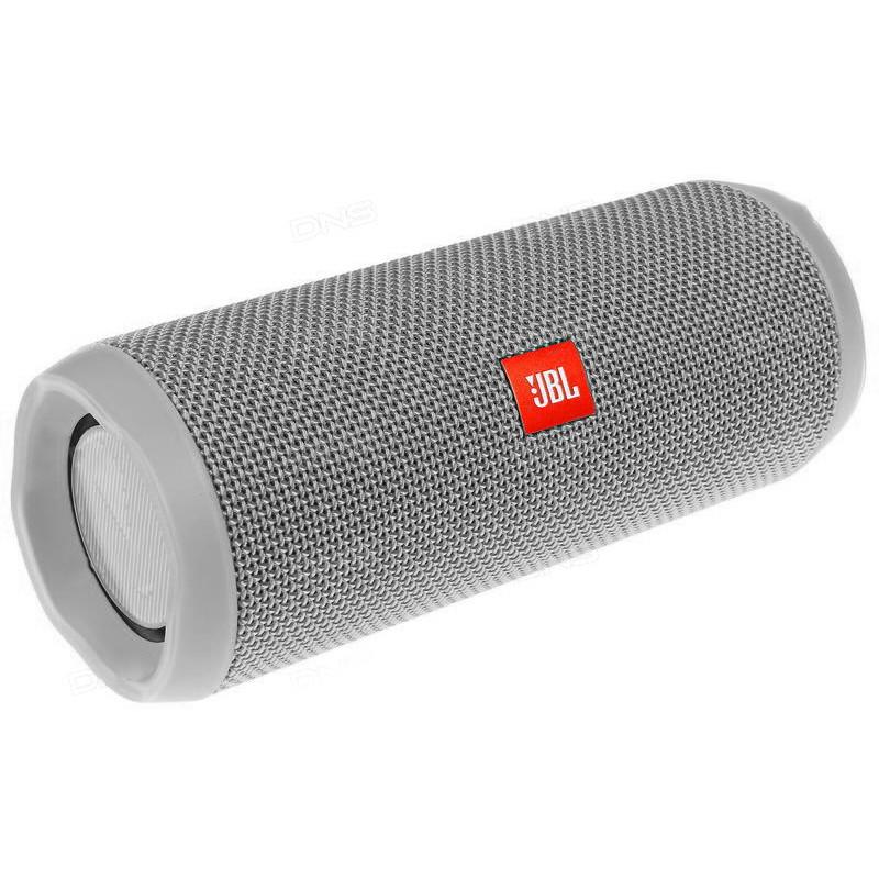 Беспроводная портативная Bluetooth колонка в стиле Jbl Charge 4 серая 149081