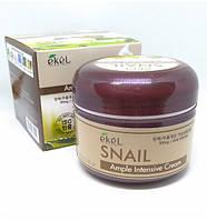Крем для лица с муцином улитки Ekel Ample Intensive Cream 100мл., фото 1
