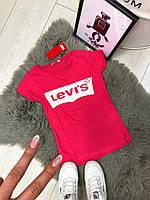 Футболка женская розовая ( Levis розовый ), фото 1