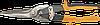 Ножницы по металлу, 290 мм, прямые длинные 31-061 Neo