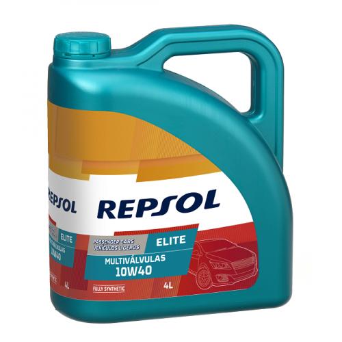 REPSOL ELITE MULTIVALVULAS 10W-40 3+1L