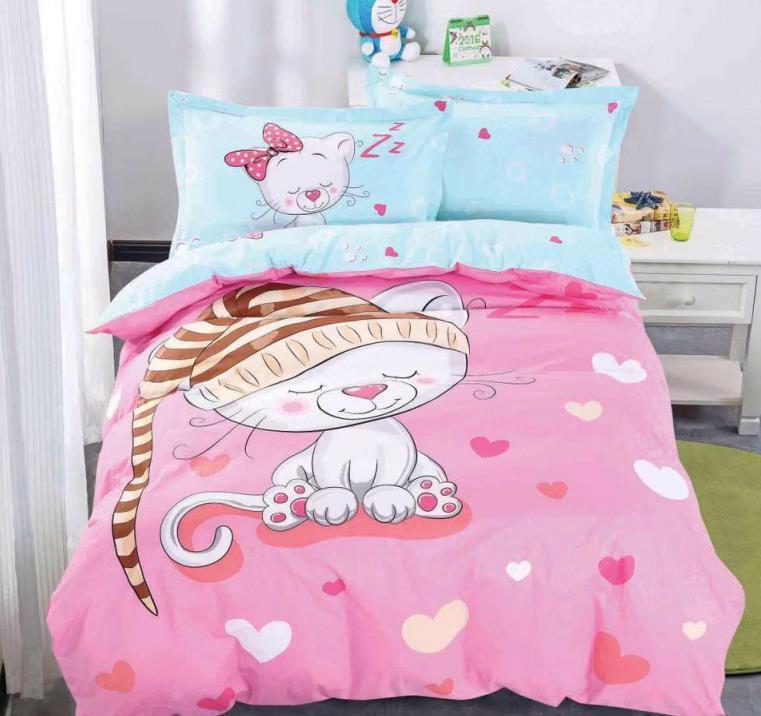 Комплект детского постельного белья из натурального сатина Элит