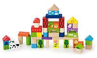 Набор строительных блоков Ферма 50 шт Viga Toys 50285