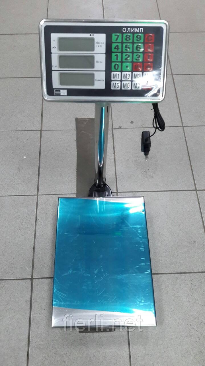 Товарные весы Олимп TCS-А 150 кг (.400х300мм)