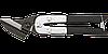 Ножницы по металлу гнутые, 250 мм, прямые 31-065 Neo