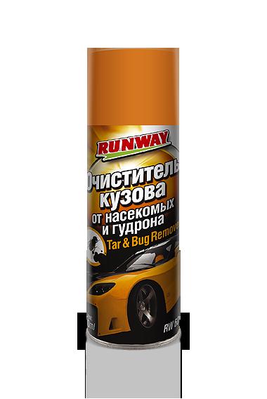 Очиститель кузова от насекомых и битума Runway, 400мл.