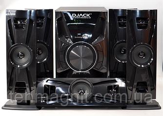 Акустическая система комплект 5.1  Djack DJ-405 100W (USB/FM-радио/Bluetooth)