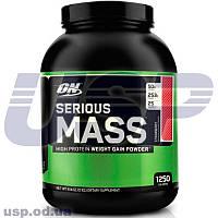 Optimum Nutrition Serious Mass спортивное питание гейнер для набора мышечной массы увеличения веса