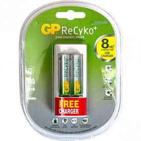 Зарядное устройство GP U211 210 AAHCBFMC-2 UE2   GP-139840