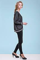 Жіночий пуловер з написами (3288 svt), фото 3